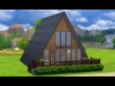 The Sims 4 Speed Build Little A Frame Lets Play Small