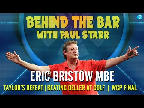 Eric Bristow on Taylor's Finances | Beating Deller at Golf | World Grand Prix Darts