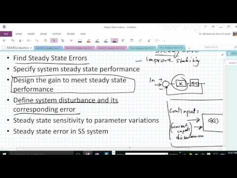 Steady State part A
