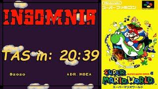 [TAS] Insomnia (SMW Hack) in 20:39