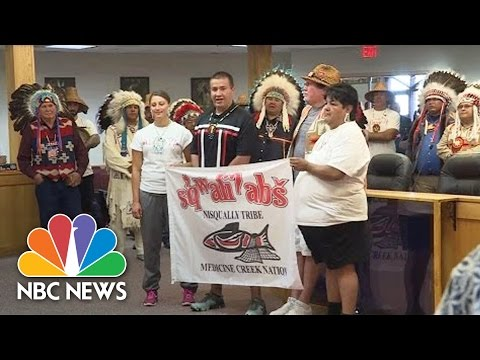 More Native American Tribes Join Standing Rock Sioux In Pipeline Protest | NBC News