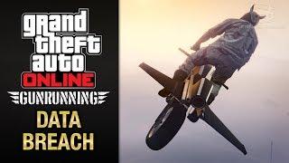 GTA Online Gunrunning - Mobile Operation #7 - Oppressor (Data Breach)
