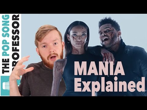 The Weeknd - MANIA   Meaning  amp  Explanation Poster