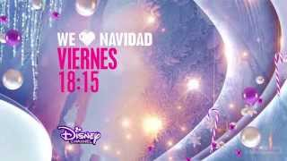 Disney Channel HD Spain Christmas Continuity and Ident 2014 hd1080