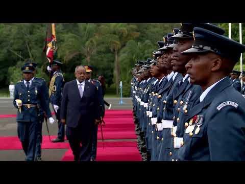 Djibouti president Ismaïl Omar Guelleh arrives in Kenya for state visit