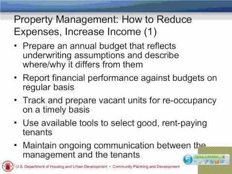Multifamily Property Management Webinar - 6/14/11