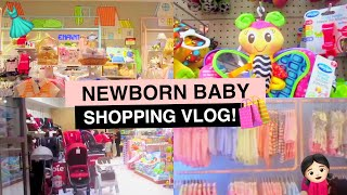 NEWBORN BABY SHOPPING VLOG!