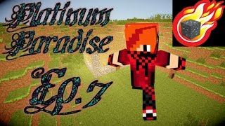 Minecraft: Platinum Paradise Ep.7 - TRYING to find transformium