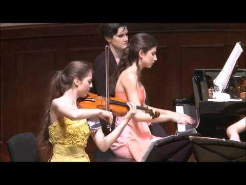 Maurice Ravel - Piano Trio in A minor - I. Modéré - C.M. Stangorra, M. Balanas y S.Gómez Vázquez