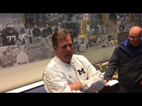 Jim McElwain on coaching at Michigan, working for Jim Harbaugh
