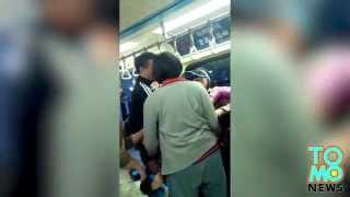 VIDEO: Taiwanese na babae, nagsapakan sa Taipei MRT!