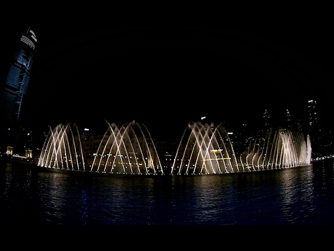 FOUNTAIN DUBAI BURJ KHALIFA United Arab Emirates DUBAI