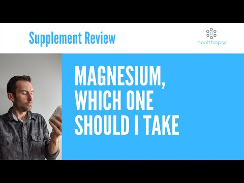Magnesium Supplements And Which Form Of Magnesium You Should Take