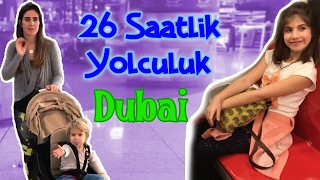 Stopover At Dubai Airport, Noa Is Not Sleeping | Our Family