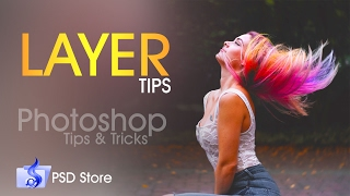 Photoshop Tips & Tricks Malayalam Tutorial - Layer Tips