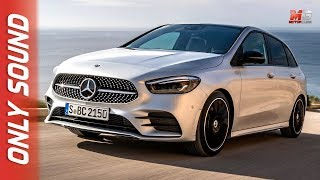 NEW MERCEDES CLASSE B 2019 - MALLORCA - FIRST TEST DRIVE ONLY SOUND