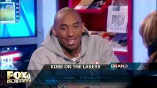 Fox Business reporter Alexis Glick flirting with Kobe during a…