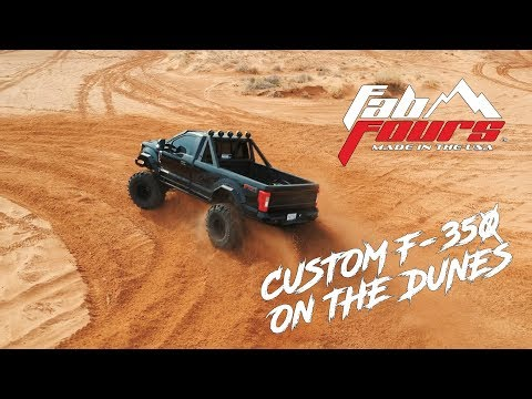 Daylighter: Custom F-350 Has Some Fun On The Sand Dunes