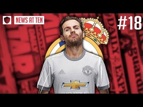 JUAN MATA TO REAL MADRID? | NEWS AT TEN #18
