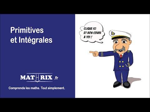 Intégrale et Primitive - Définition - Mathrix