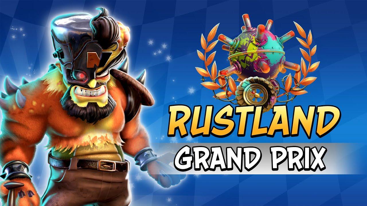 Από σήμερα διαθέσιμο το  Rustland Grand Prix για το Crash Team Racing Νitro-Fueled