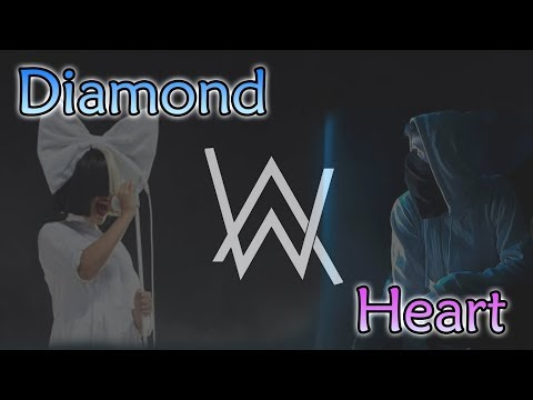 Alan Walker - Diamond Heart ft Sia (Lyric Video) [From Tomorrowland 2017]