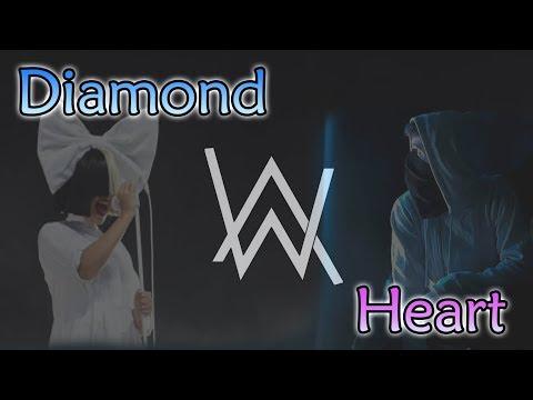 Alan Walker - Diamond Heart ft Sia (Lyric Video)