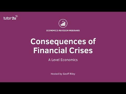 Consequences of Financial Crises (Student Webinar Recording)