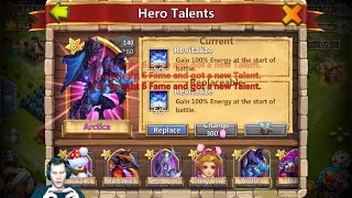 Talent ROLLING LIKE A PRO! ALL THE GOODS Rolling 27000 Gems Castle Clash