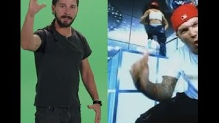 Shia LaBeouf delivers the most limp motivational bizkit of all-time