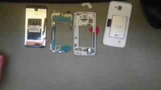 lG K4 LTE K120e Disassembly/replace display modul