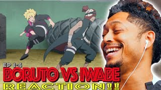 Download Video Boruto vs Iwabe! First Time Watching Boruto episode 1-4 Reaction MP3 3GP MP4