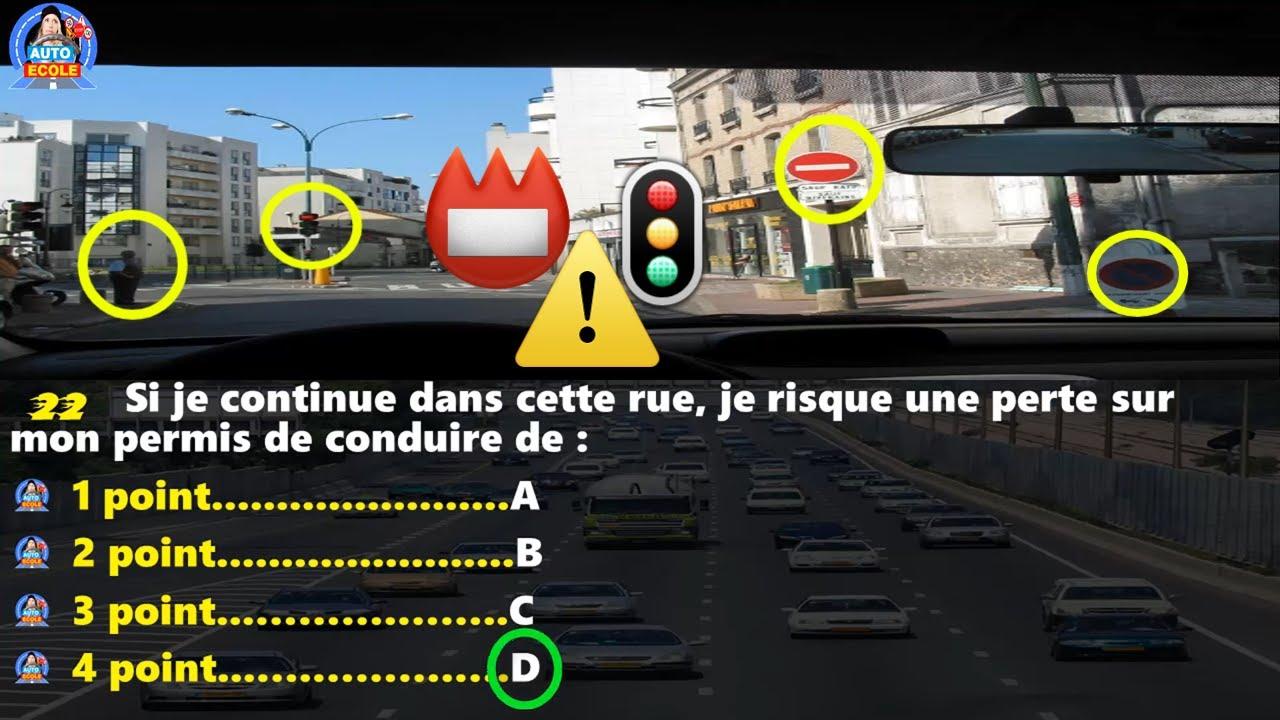 Code de la route 2020 😉 Serie # 4  🤩 permis de conduire TOP examen