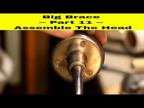 Nickel Plating ~ Pexto 8014 Brace Pt 11 ~  Assemble The Head