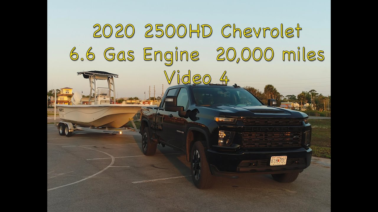2020 2500hd Chevrolet Truck 6 6 Gas Fuel Mileage And Answering Questions Video 4 Youtube