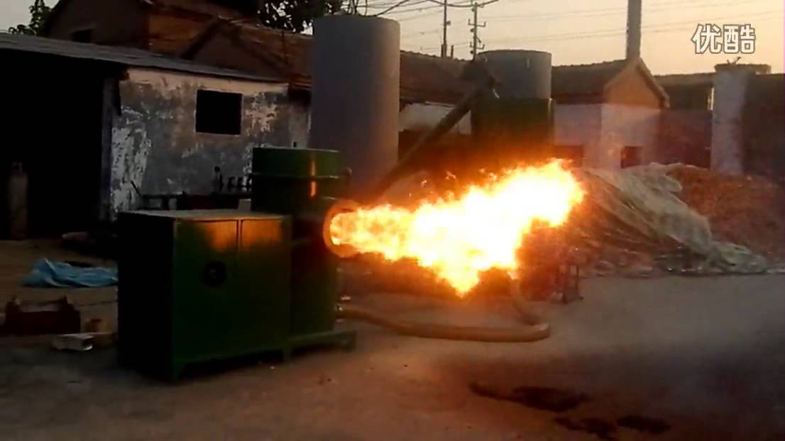 300000kcal Biomass Wood Dust Burner 350kw Sawdust Burner