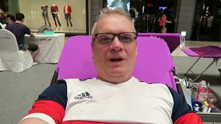 Glen and Rung Give Blood in Thailand