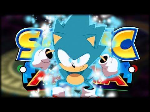 "Sonic Mania Mod   ""Dragon Ball Super"" Forms"