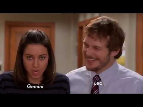 Parks and Recreation as Zodiac Signs