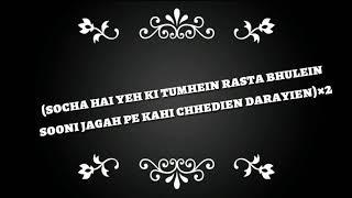 Socha hai lyrics video , movie badshaho