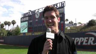 Maria Kanellis Interview from Steve Garveys Softball Classic 2010