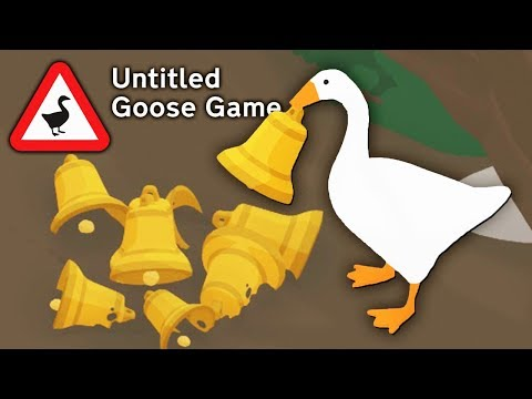 ГУСЬ ВРЕДИТЕЛЬ - КОЛОКОЛЬНЫЙ КЛЕПТОМАН! СИМУЛЯТОР УГАРНОГО ГУСЯ / Untitled Goose Game