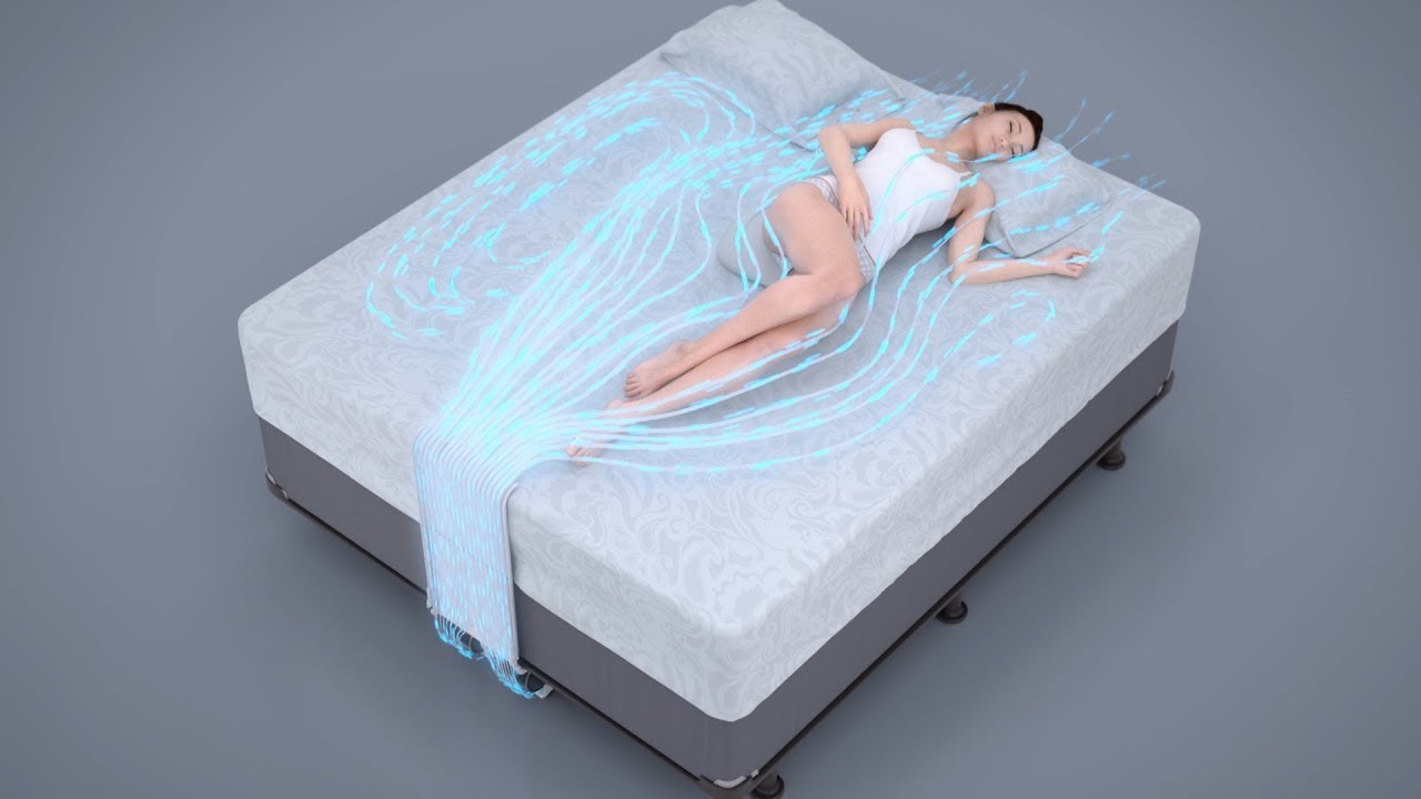 Bed Fan That Blows Cool Air Under Your Sheets | The Henry ...