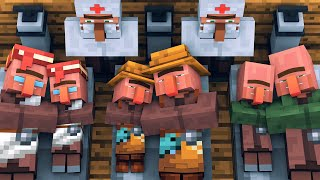 Villager vs Pillager Life [COVID-19]: FULL ANIMATION - Minecraft Animation