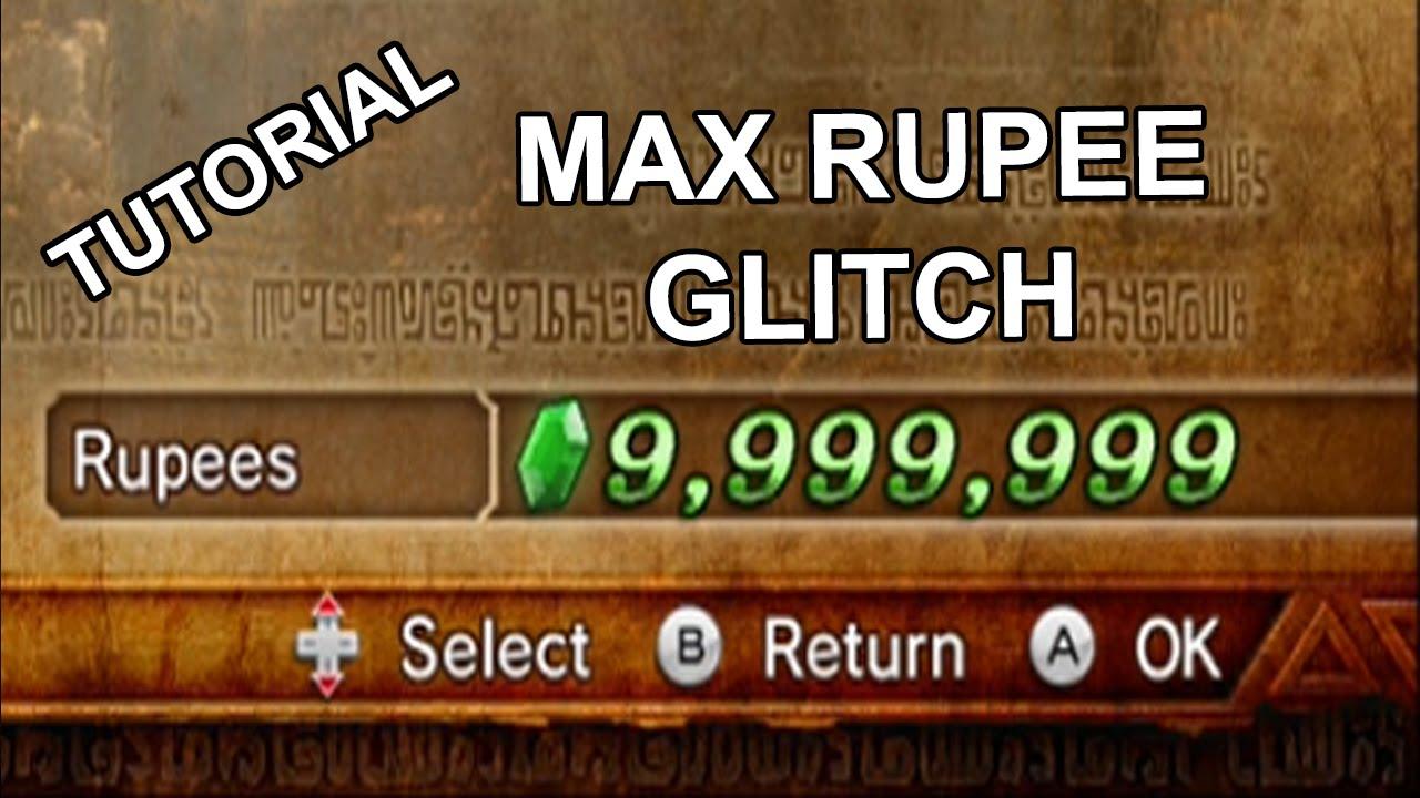 Hyrule Warriors Max Rupee Glitch Tutorial Youtube