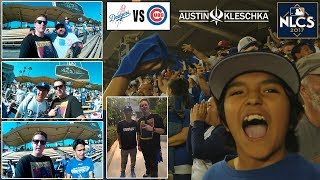 NLCS GAME 1 *FIRST EVER PLAYOFF GAME* | Kleschka Vlogs