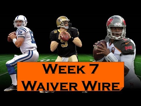 Fantasy Football 2018 Waiver Wire Week-7