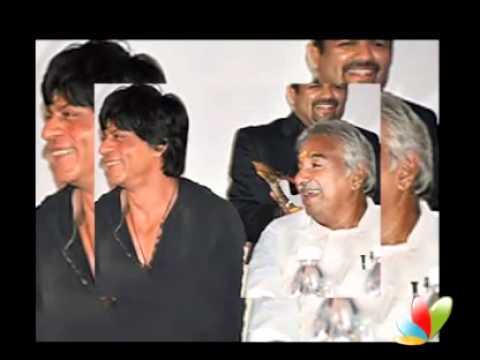 Shahrukh visits God's Own Country.
