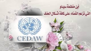 الرد على اتفاقية سيداو و وثيقة ( القضاء على كافة أشكال العنف )