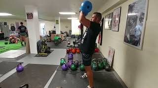 Undersquat Drop Drill For Kettlebell Jerk